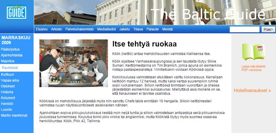 Baltic Guide